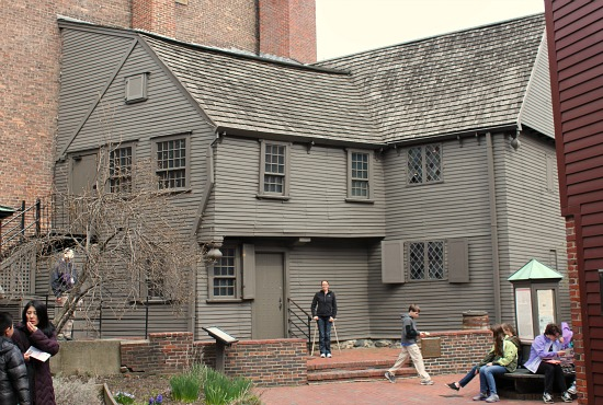 paul revere house boston