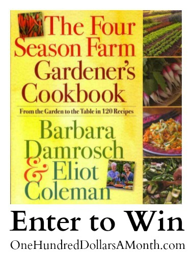Giveaway – 3 Autographed Copies of The Four Season Farm Gardener's Cookbook