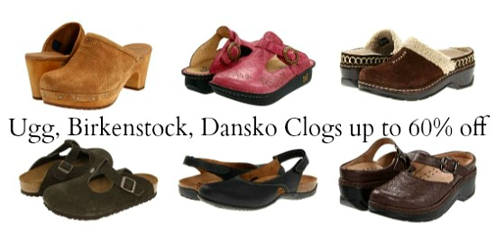 ugg Birkenstock clogs shoes
