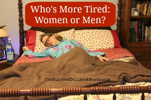 Who's More Tired:  Women or Men?