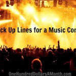 10 Pick Up Lines for a Music Concert