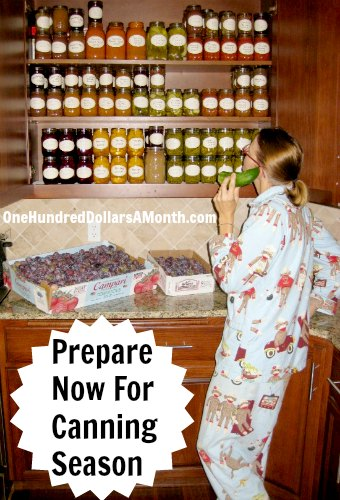 Preserving and Canning Equipment List