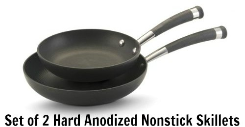 Circulon Contempo Hard Anodized Nonstick Skillets