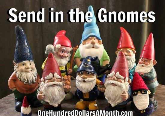 Garden Gnomes, Mavis , St. Jude Fundraiser