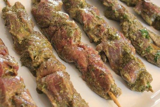 Garlic & Herb Beef Kabobs