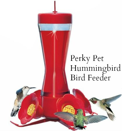 Perky Pet Hummingbird Pinch Waist Glass Bird Feeder