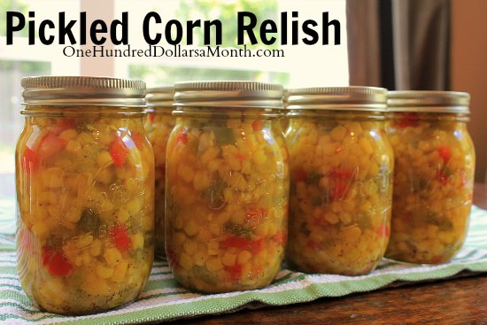 Canning 101 – Pickled Corn Relish
