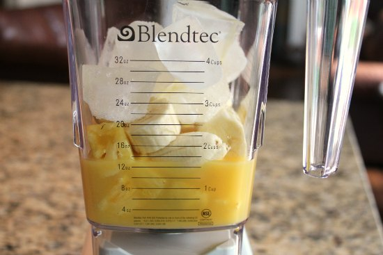 Pineapple-Orange-Banana Smoothie