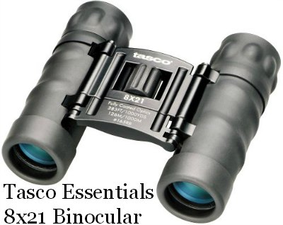 Tasco Essentials 8x21 Binocular