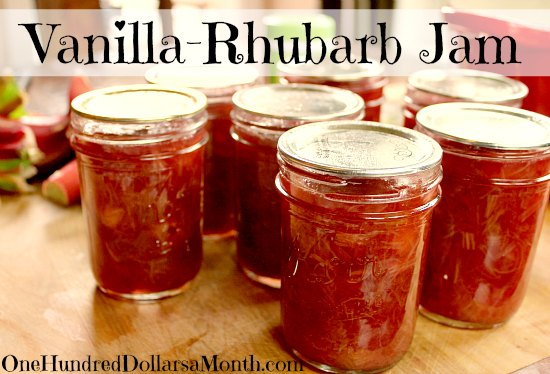 Rhubarb Rose Water Jam Recipe — Dishmaps