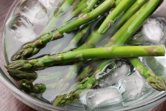 Asparagus with Hollandaise Sauce