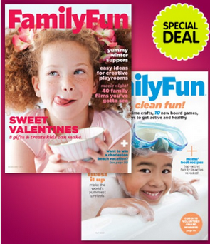family fun magazine coupons