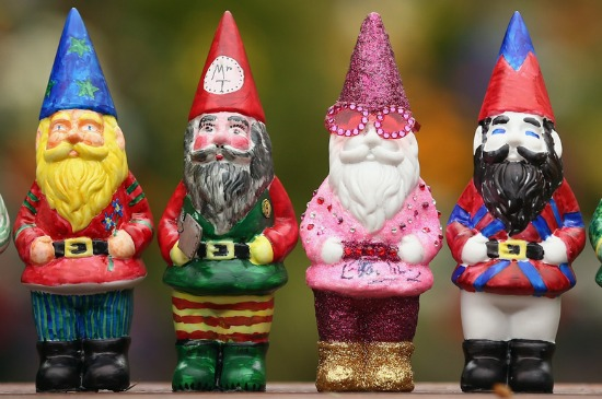 Chelsea Flower and Garden Show Gnomes