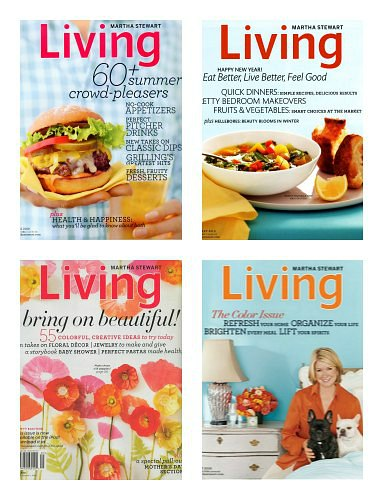Martha Stewart Living Magazine 1 Year Subscription Only $14.99