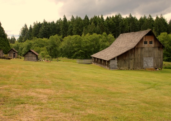 The Johnson Farm on Anderson Island