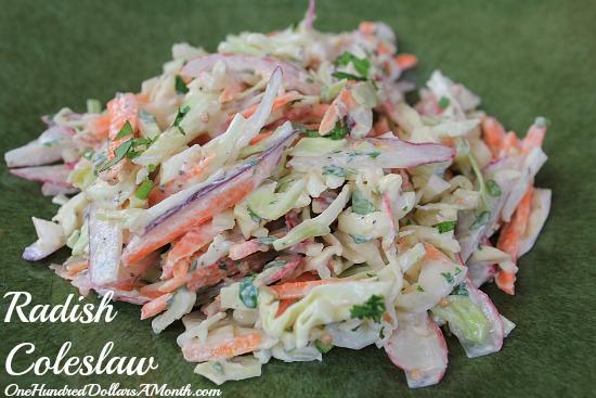 Radish Coleslaw