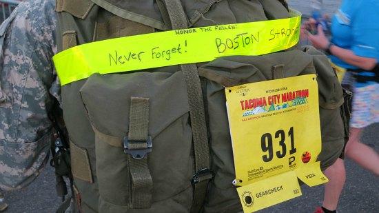 solider backpack tacoma marathon