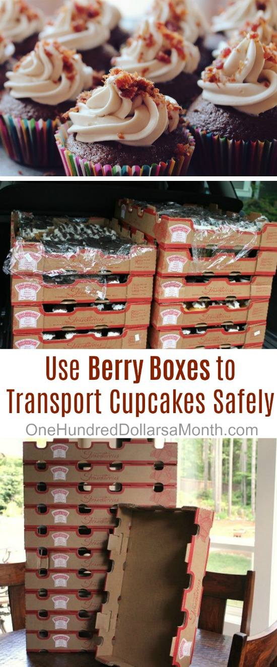How to Transport 600 Cupcakes Safely