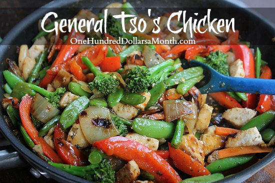 A Lighter Version of General Tso's Chicken