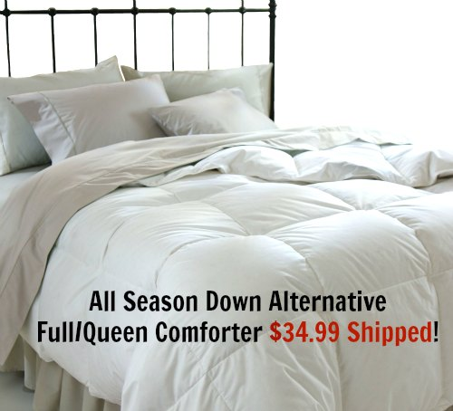 All Season Down Alternative Full Queen Comforter