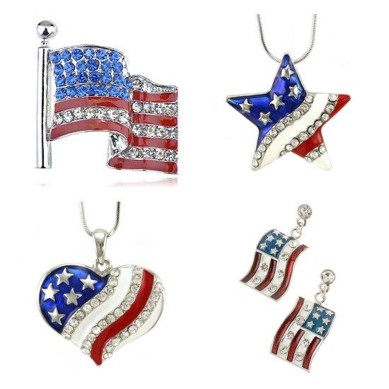 American Flag Jewelry