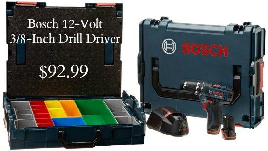 Bosch PS31-2AL 12-Volt 3 8-Inch Drill Driver