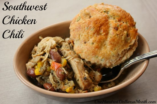 Easy Slow Cooker Meals: Southwest Chicken Chili