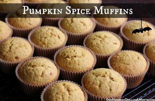 Easy Muffin Recipes – Pumpkin Spice Muffins
