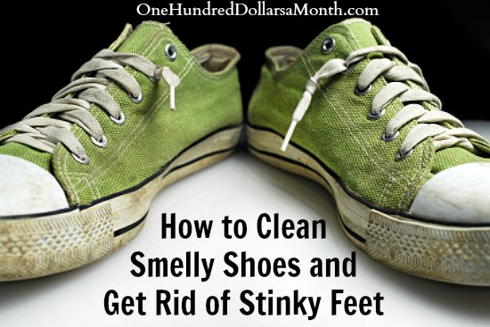 How to Clean Smelly Shoes and Get Rid of Stinky Feet