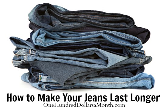 How to Make Your Jeans Last Longer