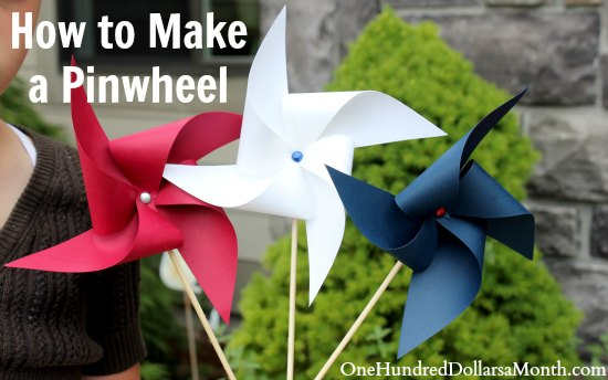 How to Make a Pinwheel Easy Kids Crafts