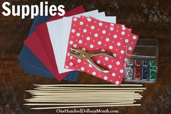 Easy Crafts for Kids – How to Make a Pinwheel