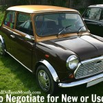 How to Negotiate for New or Used Car