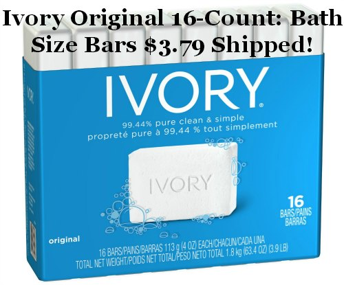 Ivory Original 16 Bath Size Bars