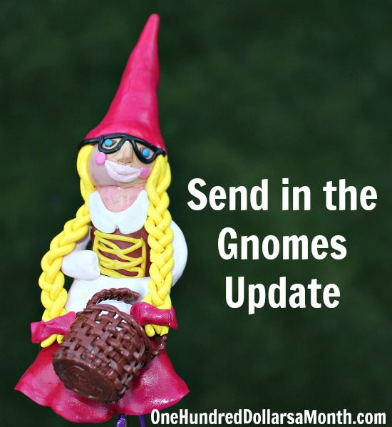 Send in the Gnomes Fundraiser for St. Jude – Update