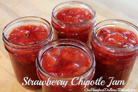 Strawberry Quick Jam Strawberry Chipotle Jam You