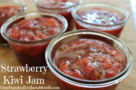 Strawberry Kiwi Jam Recipe
