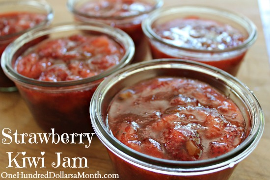 Strawberry Kiwi Jam Recipe