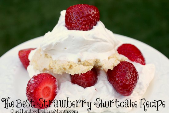 Quick and Easy Strawberry Shortcake With Chocolate Chips