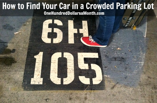 Travel Tip – How to Find Your Car in a Crowded Parking Lot