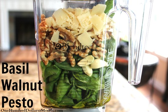 Basil Walnut Pesto Recipe