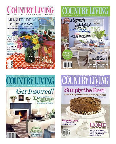 Country Living Magazine 1 Year Subscription only $5.99