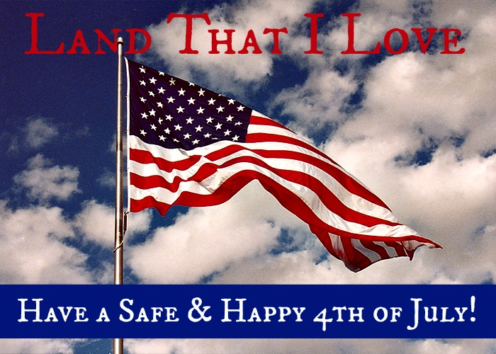 Land of the Free: Happy Independence Day!