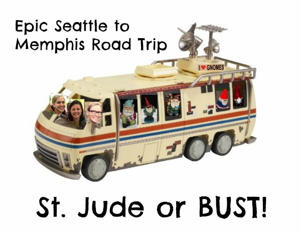 Epic Seattle-Memphis Road Trip: St. Jude or BUST!