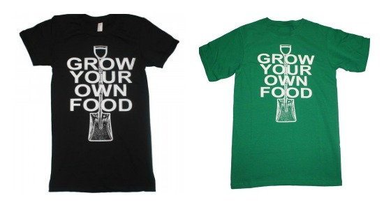 grow your own food t shirt
