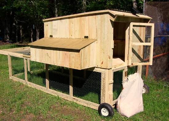 A Frame Chicken Tractor Plans : Cool chicken coop designs and stories of