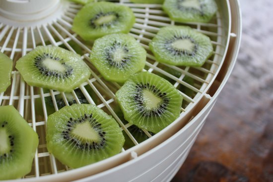 how to dehydrate kiwi fruit