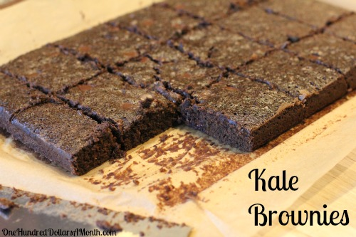 Recipe – How to Make Kale Brownies with Carrots