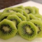 kiwi fruit sliced