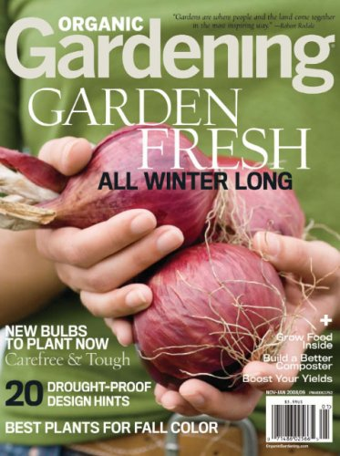 1 Year Subscription to Organic Gardening Magazine for only $4.99